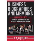 Business Biographies and Memoirs: 6 Manuscripts Jeff Bezos, Elon Musk, Steve Jobs, Bill Gates, Jack Ma, Richard Branson /  Деловые биографии и мемуары. 6 рукописей Джефф Безос, Илон Маск, Стив Джобс, Билл Гейтс, Джек Ма, Ричард Брэнсон