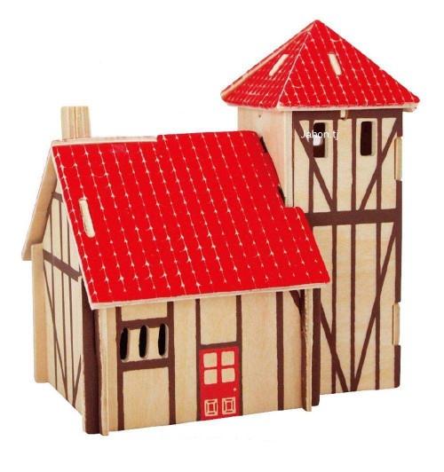 """Конструктор: Сборная деревянная модель """"Вилла"""" 3D"""
