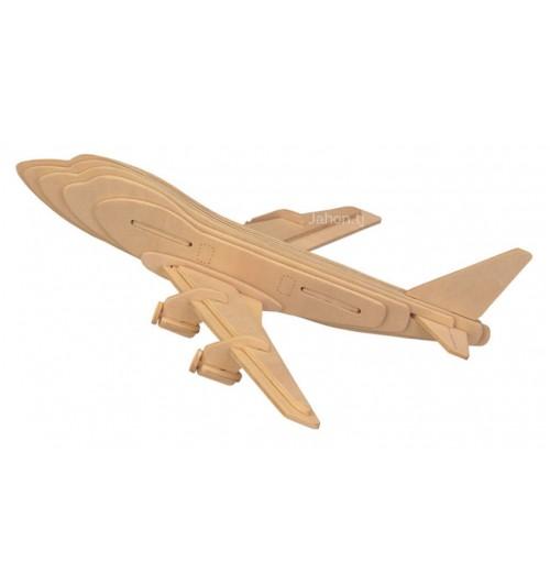 """Конструктор: Сборная деревянная модель """"Боинг 747"""" 3D"""