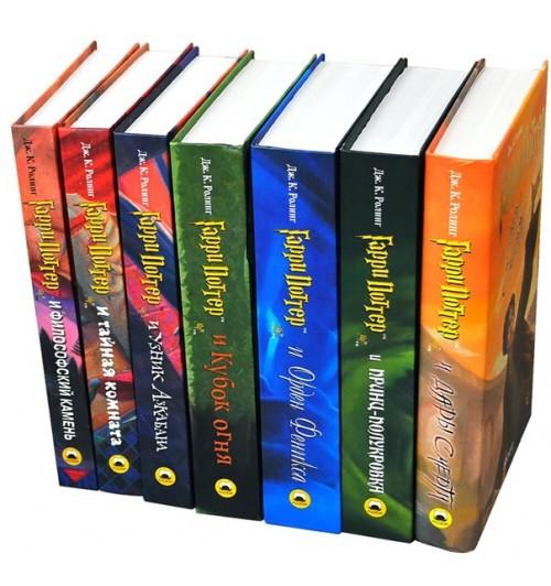 Джоан Роулинг: Комплект Из 7 Книг Гарри Поттер / Росмэн (Кружка в подарок)