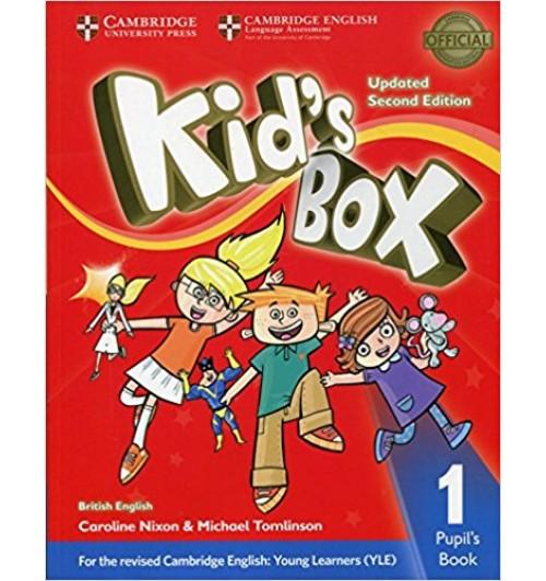 Никсон Кэролайн: Kid's Box Updated 2 Edition Pupil's Book 1