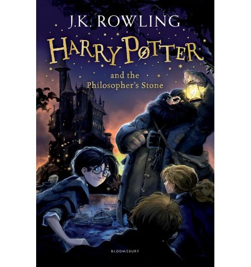 Joanne Rowling: Harry Potter 1: Harry Potter and the Philosopher's Stone / Гарри Поттер и философский камень    Джоан Роулинг