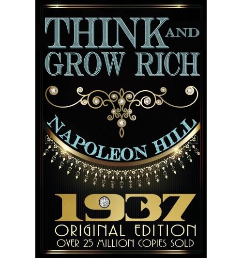 Think and Grow Rich - Original Edition / Наполеон Хилл  Думай и богатей (М)