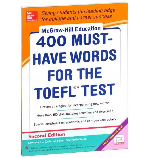 Lynn Stafford-Yilmaz: 400 Must-Have Words For The Toefl Test